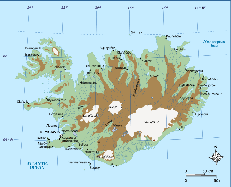 Top places guide to Iceland Iceland Beyond – Iceland Tourist Map