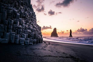 Reynisfjara South Coast Iceland 2019