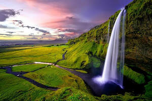 Seljalandsfoss South Coast Iceland 2019